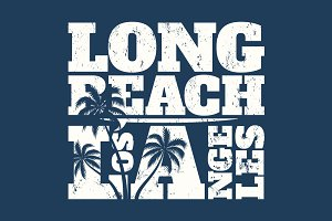 Long Beach LA graphic