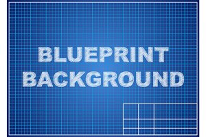 Blueprint background. Technical design paper.