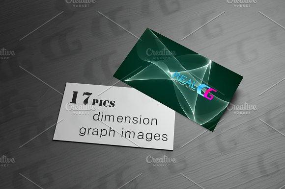 Dimension Graph Background