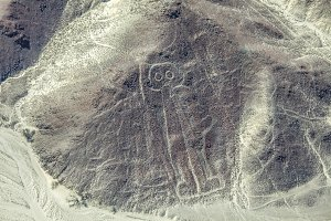 Astronaut image at the Nazca lines i