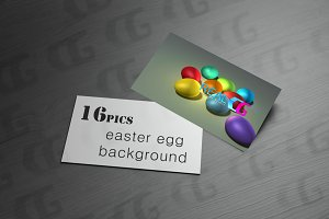 colorful easter egg background