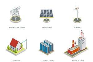Smart grid elements