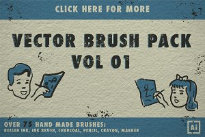 Vector Brush Pack Vol 01