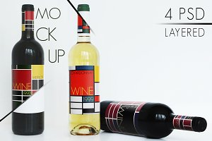 "'Wine Mockup"" Collection"