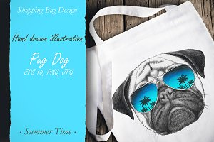 Pug Dog / Summertime