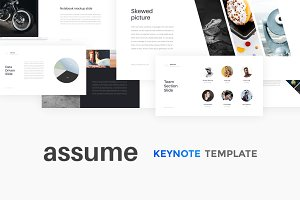 Assume Keynote Template + GIFT
