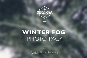 Winter Fog // Photo Pack // Vol.1