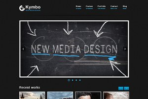 Kymbo - responsive WordPress Theme