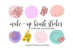 Brush Strokes Clipart - circles 2