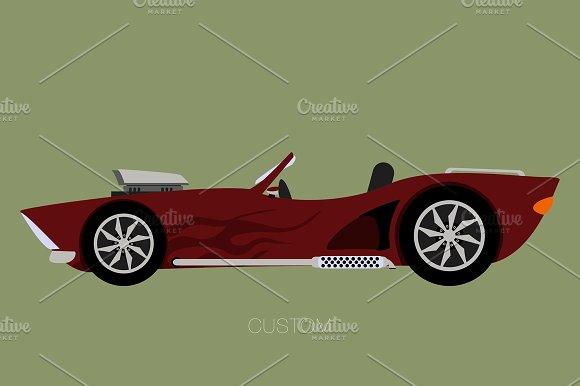 Custom Convertible Car
