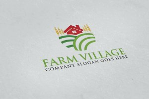 Farm Village Logo