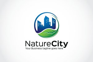 Nature City Logo Template
