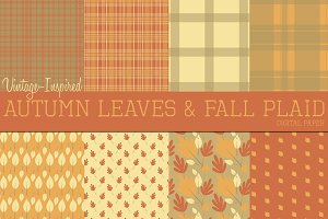 Vintage Fall Papers
