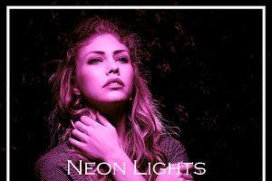 20 Neon Lights Lightroom Presets