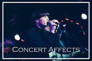 Concert Affects Lightroom Presets