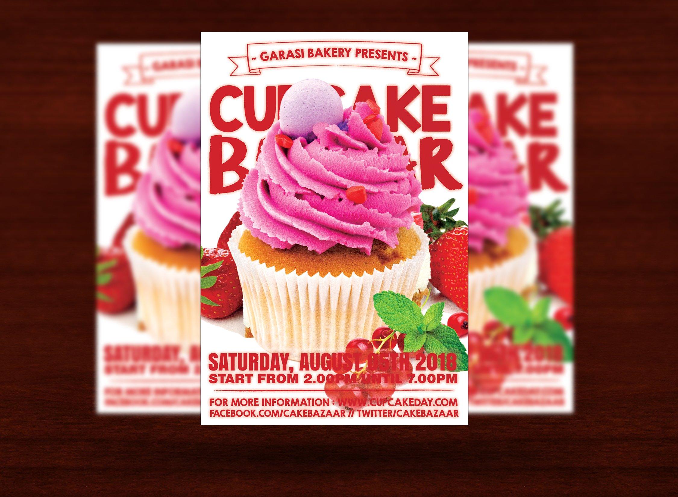cake store flyer flyer templates creative market