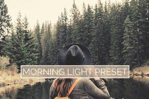 10 Morning Light Lightroom Presets