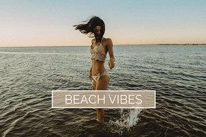 10 Beach Vibes Lightroom Presets