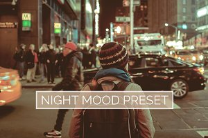10 Night Mood Lightroom Presets