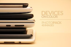 Devices on Color - PhotoPack