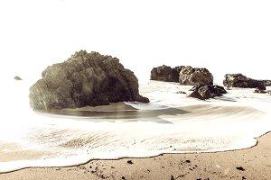 Dramatic Rocky Beach