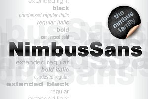Nimbus Sans Volume with 23 Styles