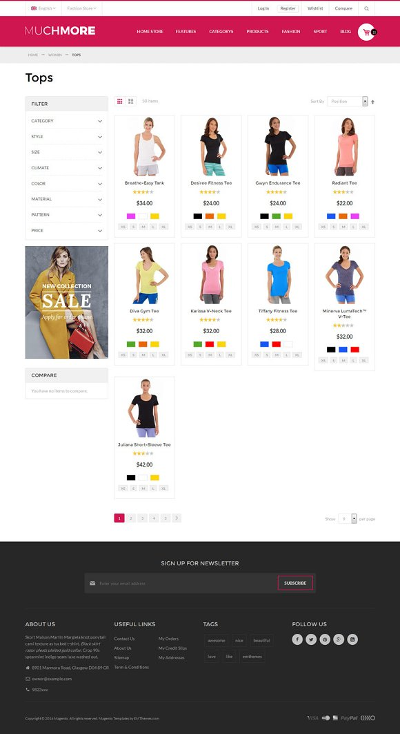 Clothing Store Magento1 2 Theme