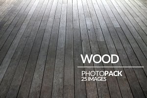 Wood - PhotoPack - 25 Images
