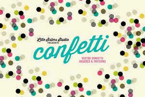 Confetti - Brushes