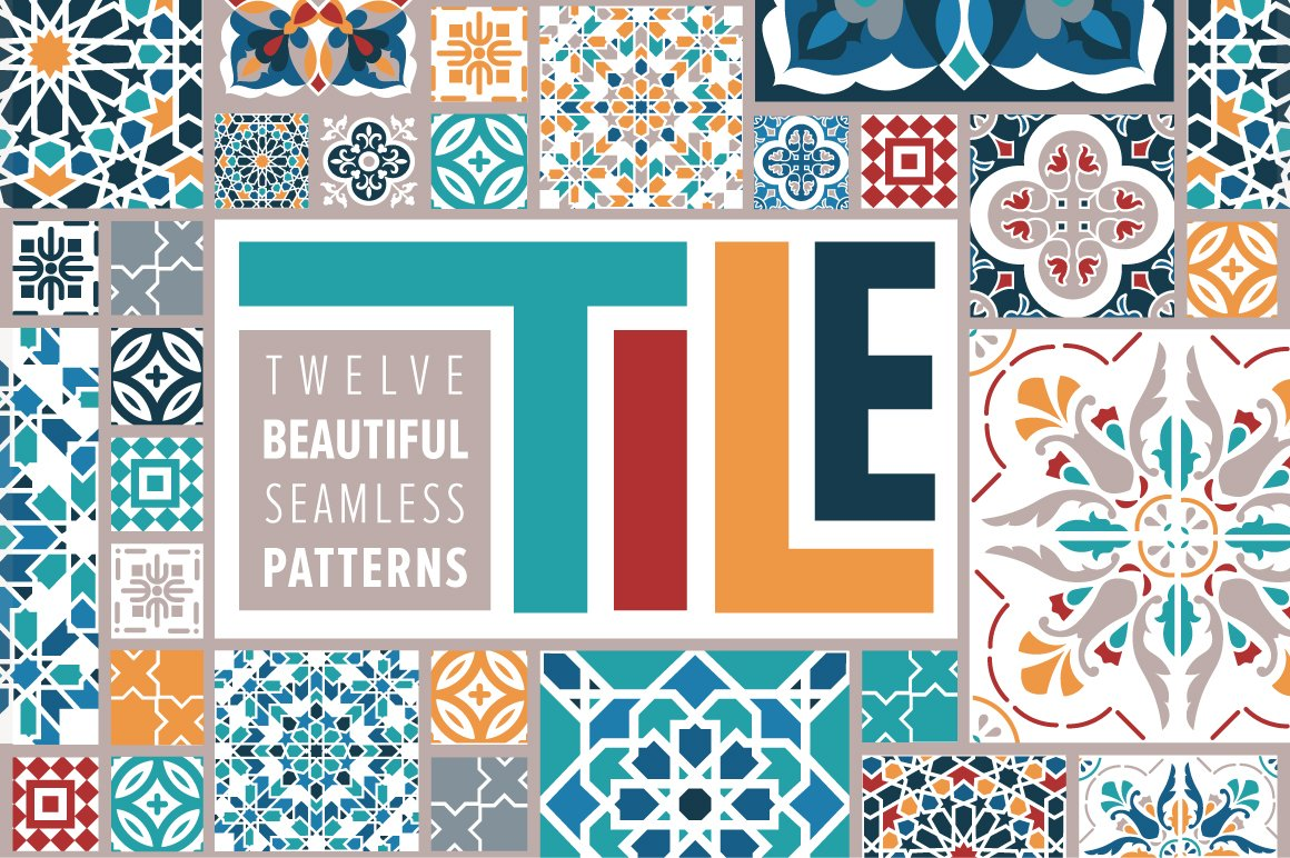 TILE Pattern Bundle ~ Graphic Patterns ~ Creative Market