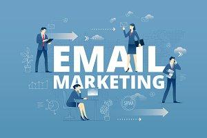 Email marketing hero banner