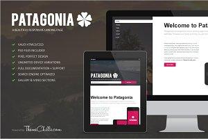 Patagonia Responsive Landing Page