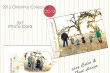 Christmas Photo Card Collection CC13