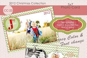 Christmas Photo Card Collection CC23