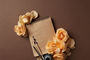 Diary or notebook for your notes