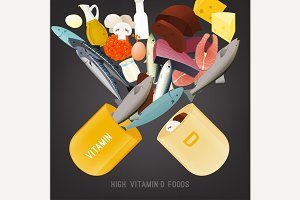 Vitamin D in Food