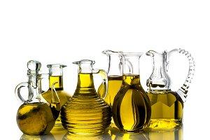 Set of extra virgin olive oils