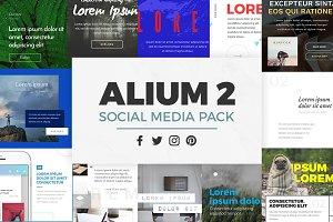 ALIUM 2 | Social Media Pack