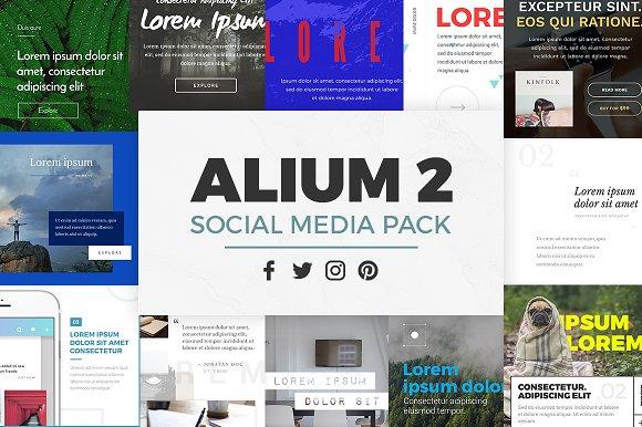ALIUM 2 Social Media Pack