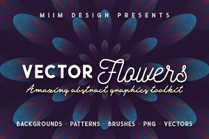 Vector Flowers - Abstract Toolkit