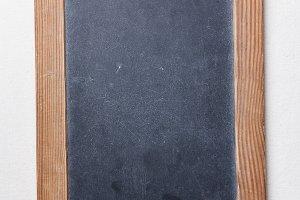 Vintage slate chalk board
