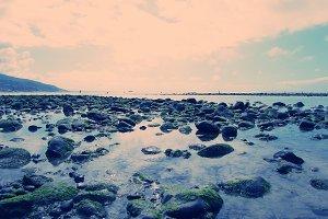 Morning Malibu Beach Shoreline