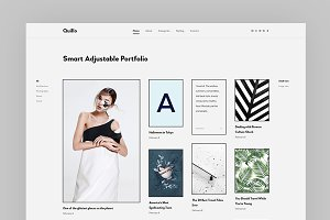 Quillo - Adjustable Portfolio Theme