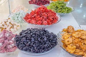 Indian fruit candies