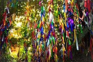 Ribbons at Impressions Museum in Nha Trang, Vietnam