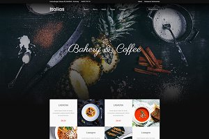 Italias - Restaurant WordPress Theme