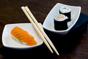 Sushi, eat time