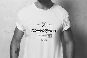 Blank t-shirt mockup