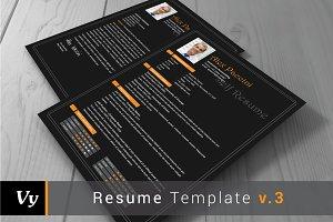 Resume Template v.03