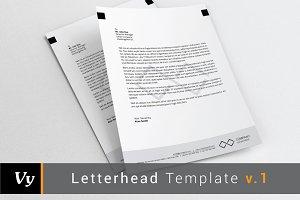 Letterhead Template v.01